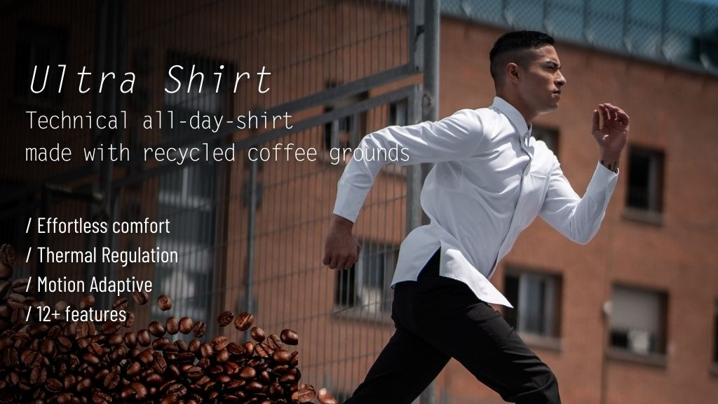 Ultra Shirt | Technical All-Day-Shirt with 12+ Features