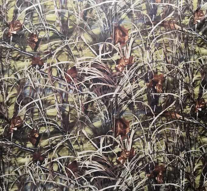 Reed/grass camouflage pattern