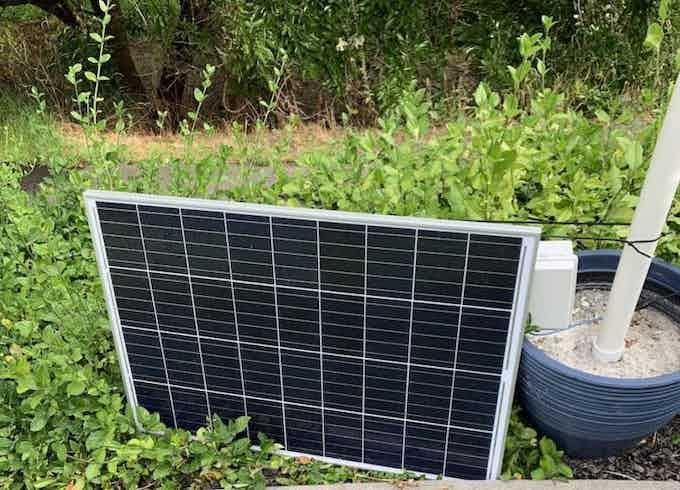 SolarMAX2 Waiting for Sunrise!