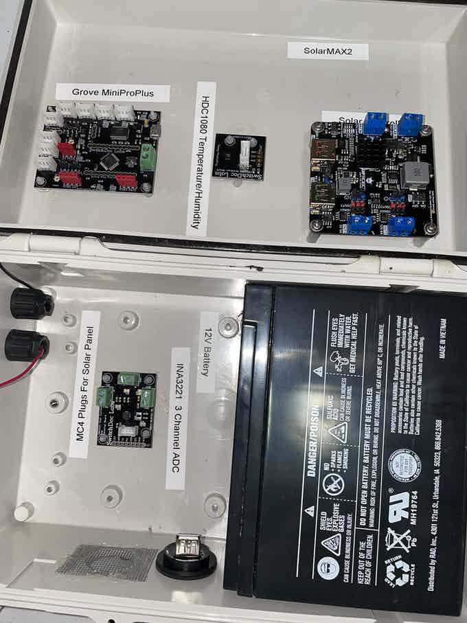 SolarMAX2 Ready to be Wired!