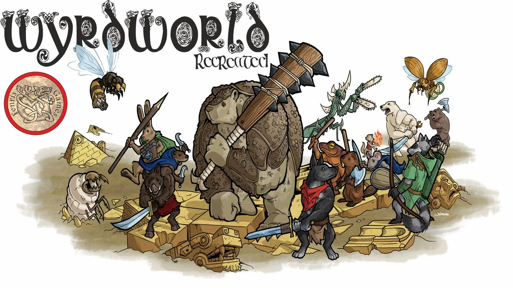 Project image for Wyrdworld ReCreated - 28mm anthro fantasy miniatures