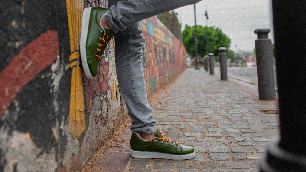 Vegan cactus leather Sneakers - Take the next step!
