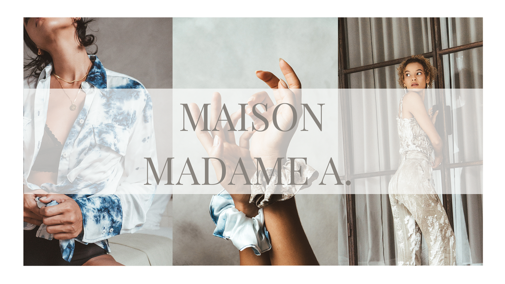 MAISON MADAME A - SUSTAINABLE LOUNGEWEAR FROM BALI
