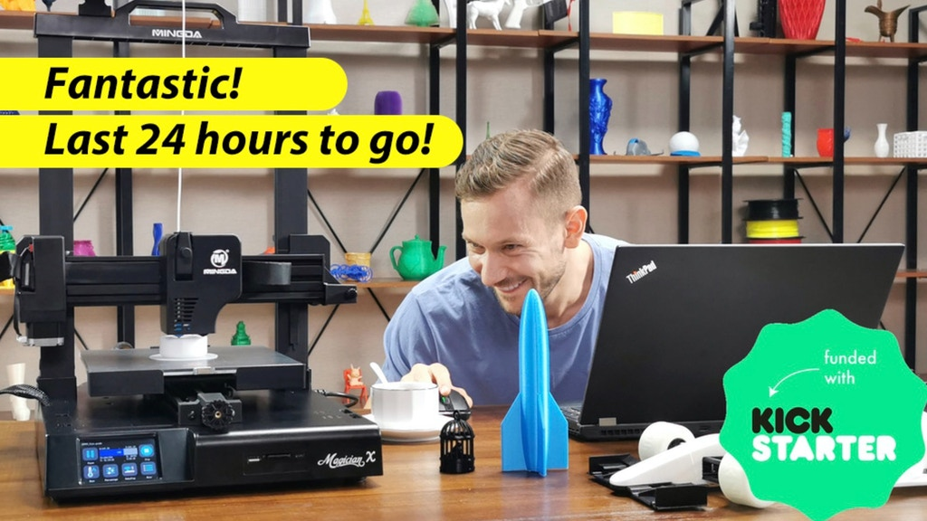 Magician X FDM 3D Printer: Innovator of Auto-Leveling