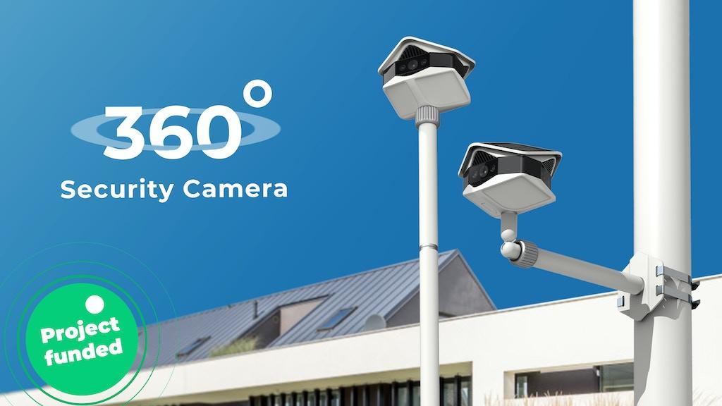 HeliosCam: Wireless 4K x 3 Panoramic Security Camera
