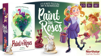Paint the Roses: A cooperative puzzle game in Wonderland