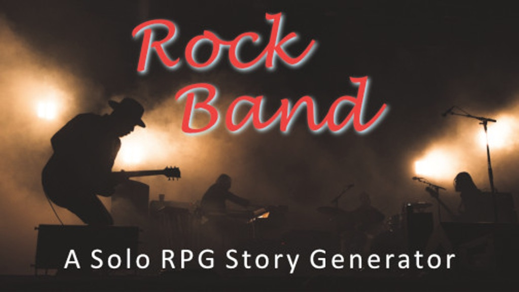 Rock Band: A Solo RPG Story Generator