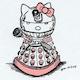 MINION Katie Pants Dalek Kitten
