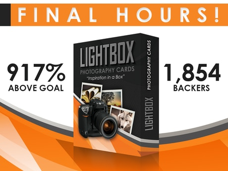 LightBox Photography Cards by Paul Michael Kane —Kickstarter