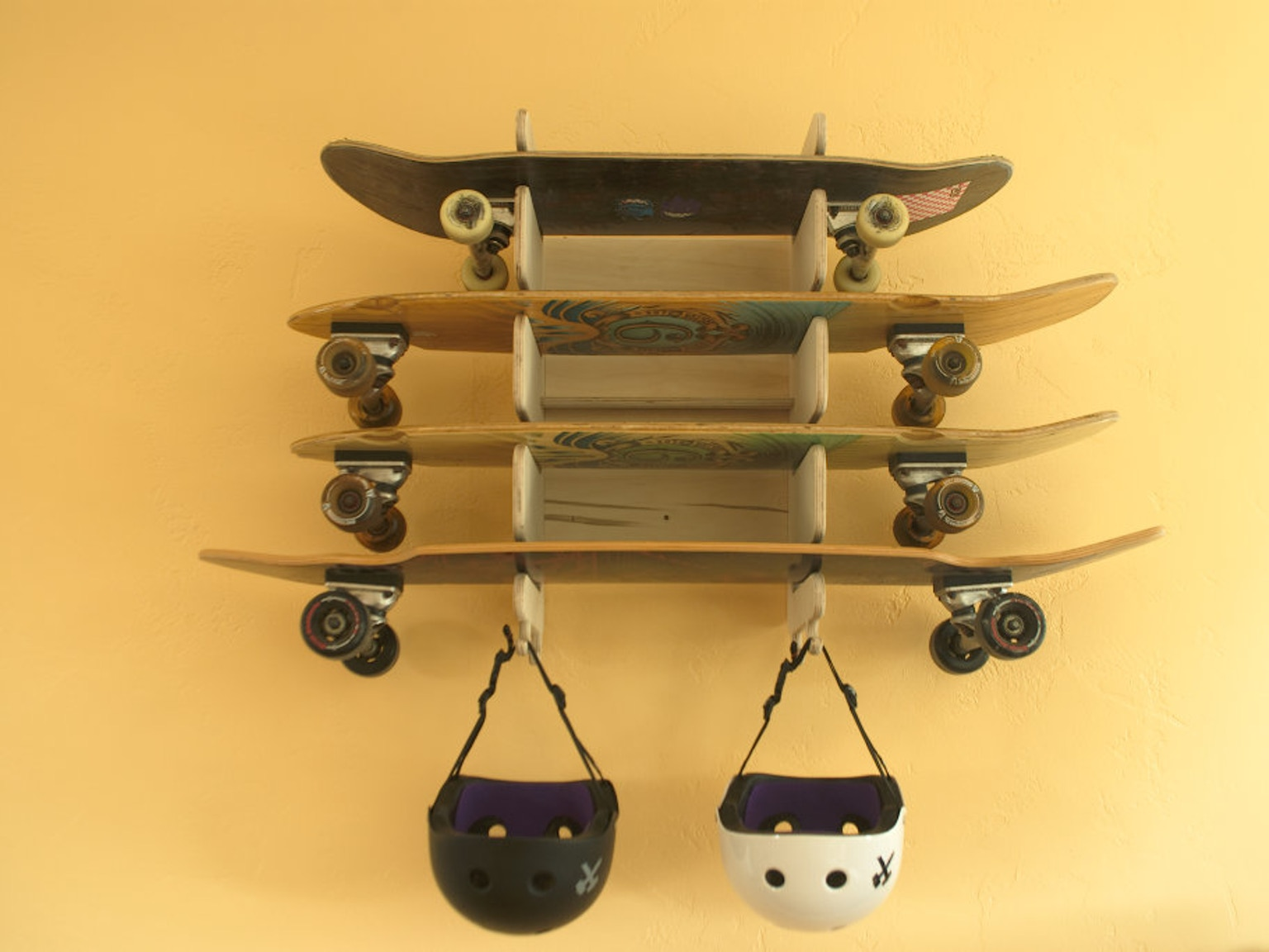 Soto The Wall Mounted Board Rack For All Of Your Boards
