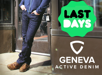 GENEVA: Premium Active Denim For Modern Life