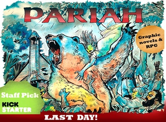 Pariah Missouri Vol 1 & 2 Hardcovers and RPG book