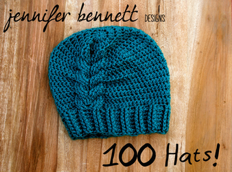100 Crocheted Hats