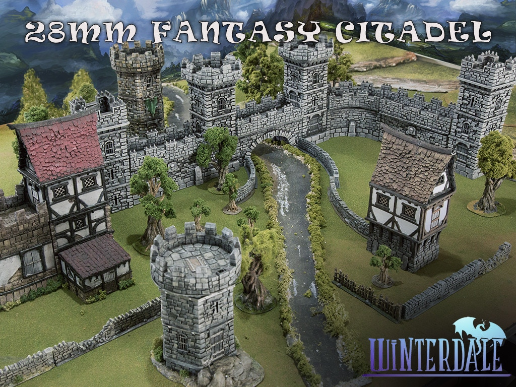 Winterdale Medieval Fantasy Citadel Collection For 28mm