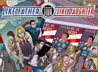 Like Father, Like Daughter #1 Comic Book