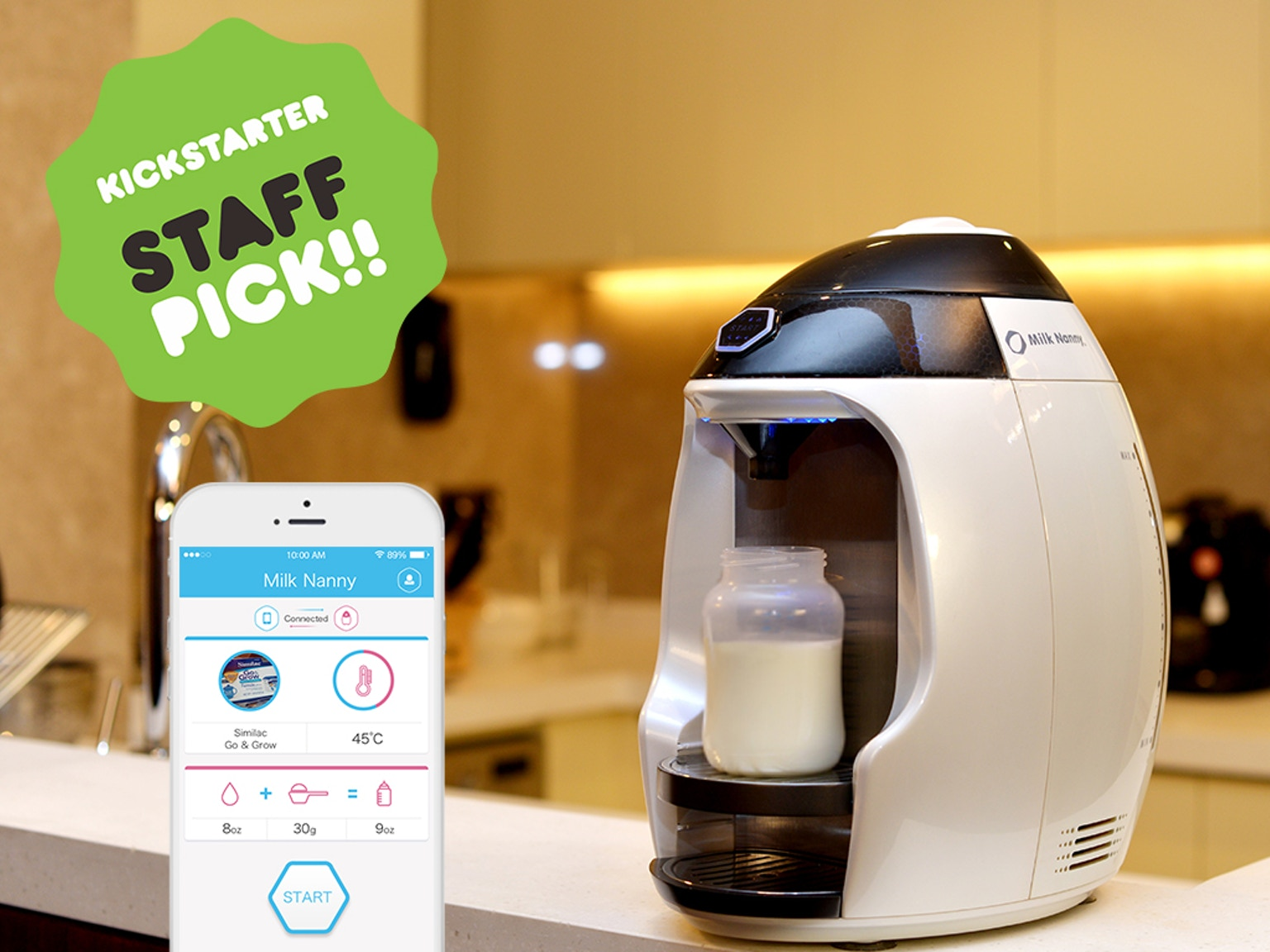 Milk Nanny: The World's First Smart Home Formula Milk Maker by ...