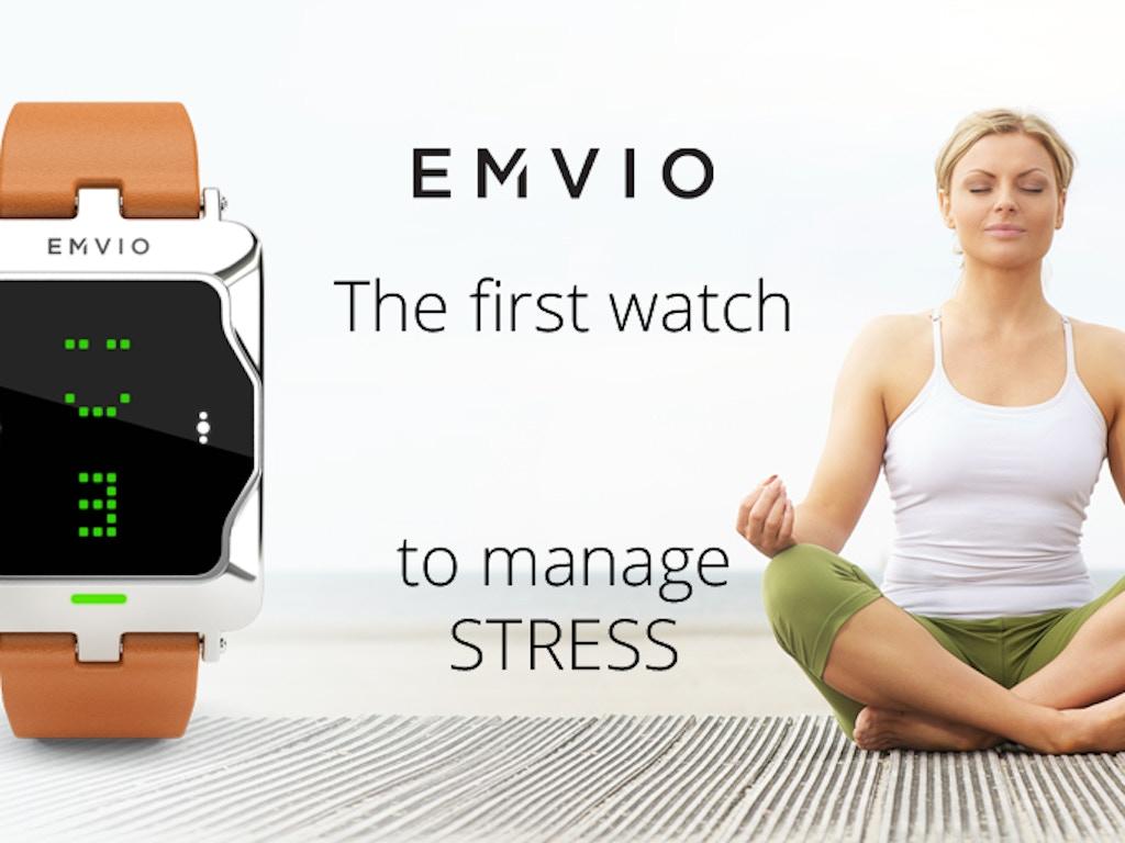EMVIO - watch to manage stress