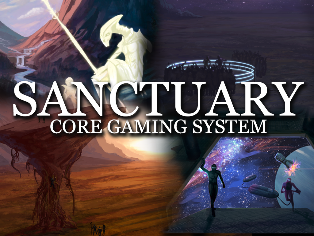 SCGS - Sanctuary Core Gaming System project video thumbnail