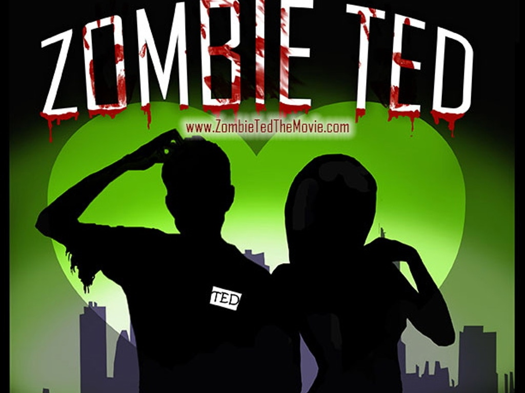Zombie Ted, A Comedy-Horror Movie's video poster