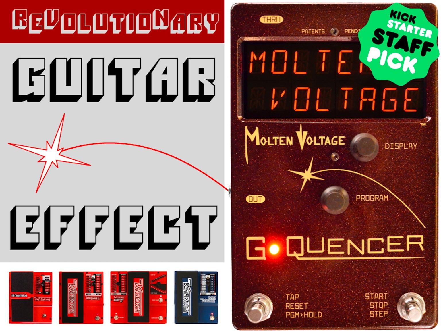 G-Quencer || Guitar Sequencer Effect Pedal by Molten ...