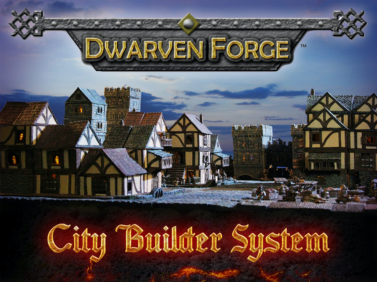Dwarven Forge: City Builder System