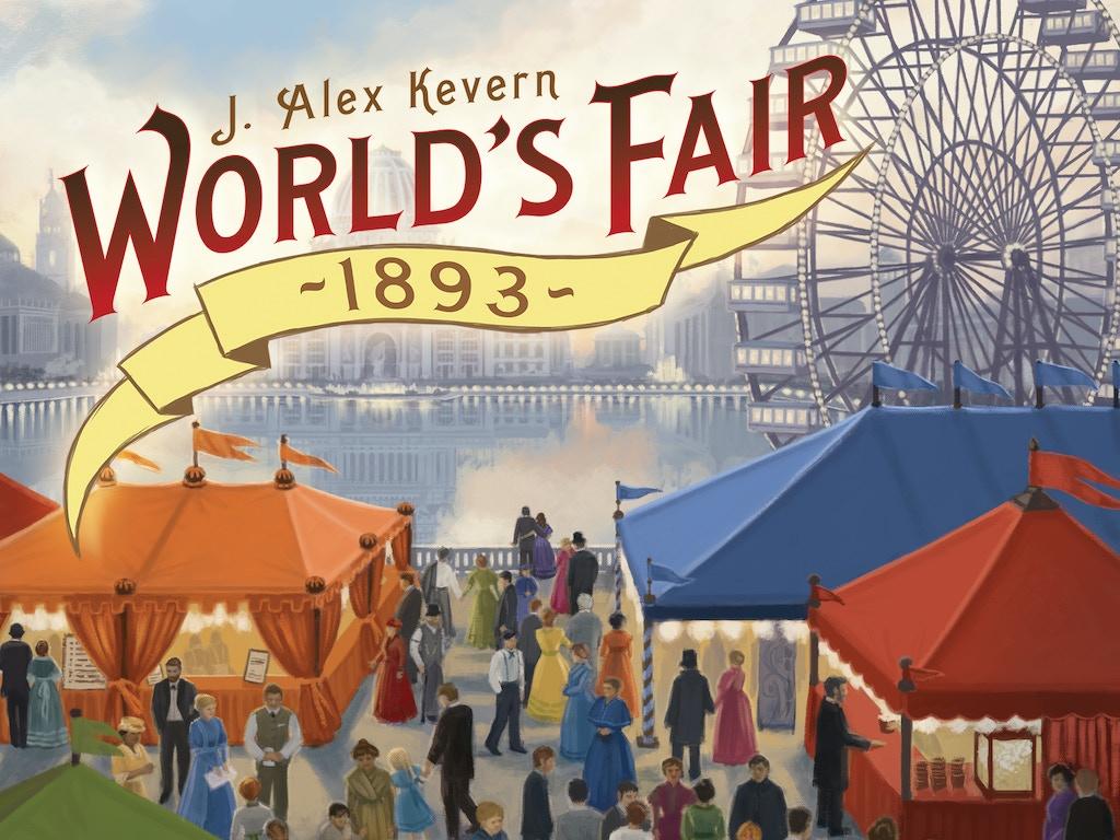 World's Fair 1893 - Board Game miniatura de video del proyecto