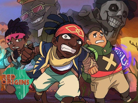 Red Origins An Original Animated Series By Obi Ud