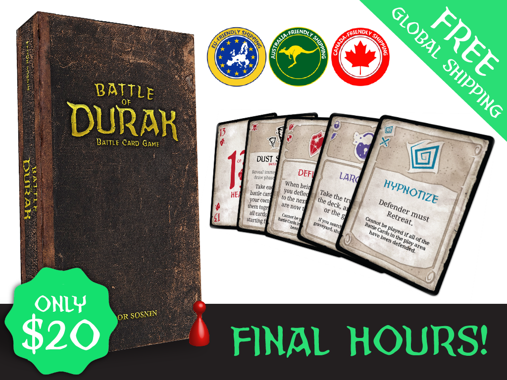 A 2-4 player card game with unique gameplay and powerful, asymmetric character skills.