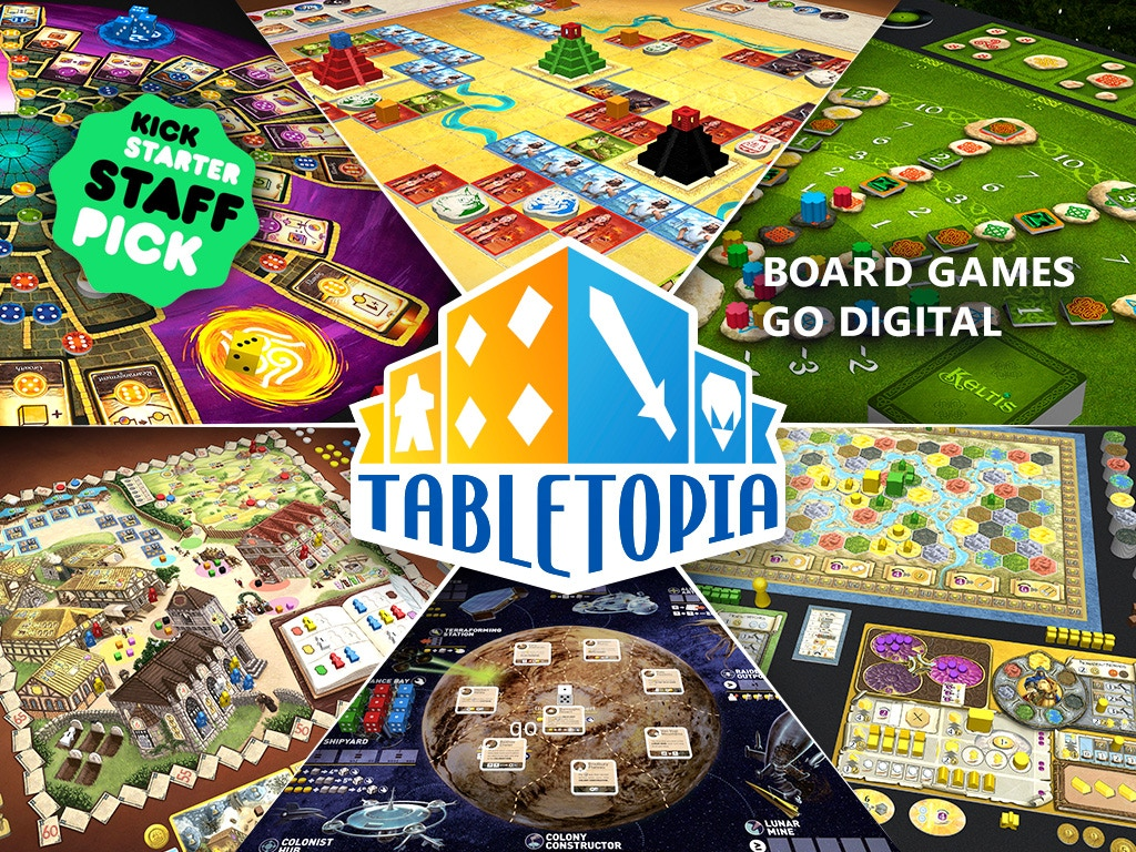 Tabletopia - The digital platform for board games miniatura de video del proyecto