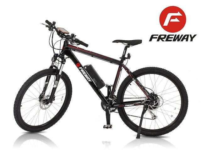 Freway 27 Speed Pedal Assist Smart Ebike At 499 By Freway Kickstarter