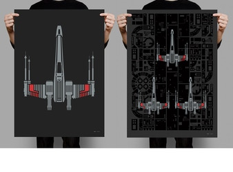 X-Wing. Digitally Remastered for Print.