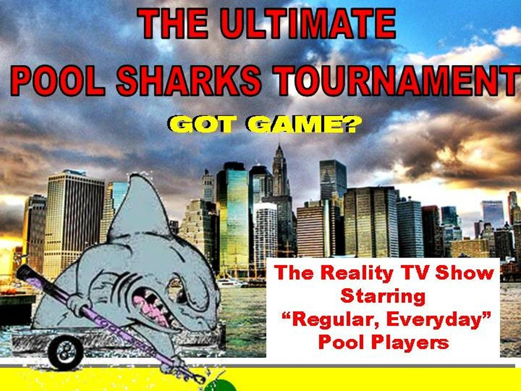 Ultimate pool sharks reality tv show by jp beaty kickstarter for Ultimate pool show