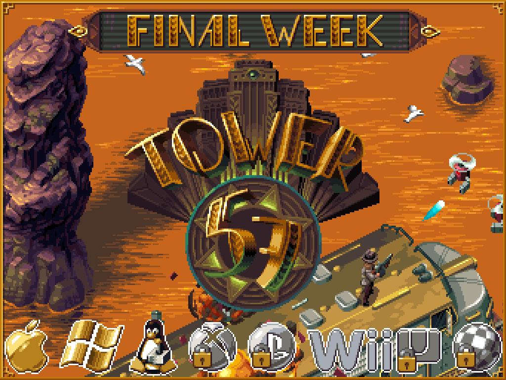 Tower 57 - Shooter com inspiração retro [kickstarter]