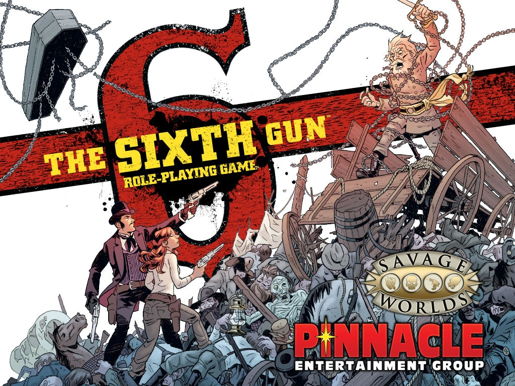 The Sixth Gun RPG for Savage Worlds project video thumbnail
