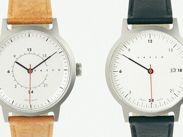 Vasco 24h watch with a swiss heart inside by benjamin chamfeuil kickstarter for Vasco watches