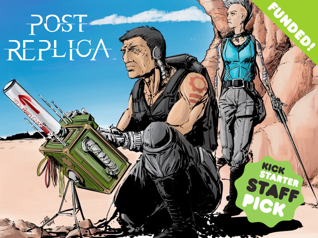 Post Replica - the 1st Tablet-Top Roleplaying Game project video thumbnail
