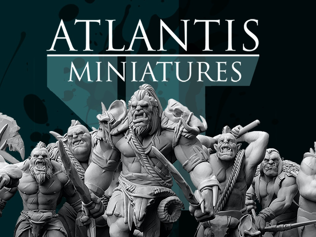 Highly detailed resin miniatures full of character!