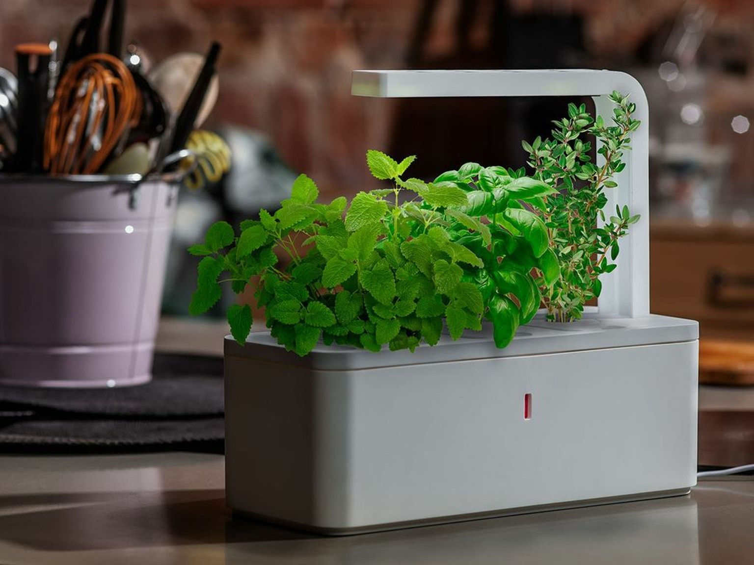 Smart Herb Garden By Click Grow By Click Grow Kickstarter