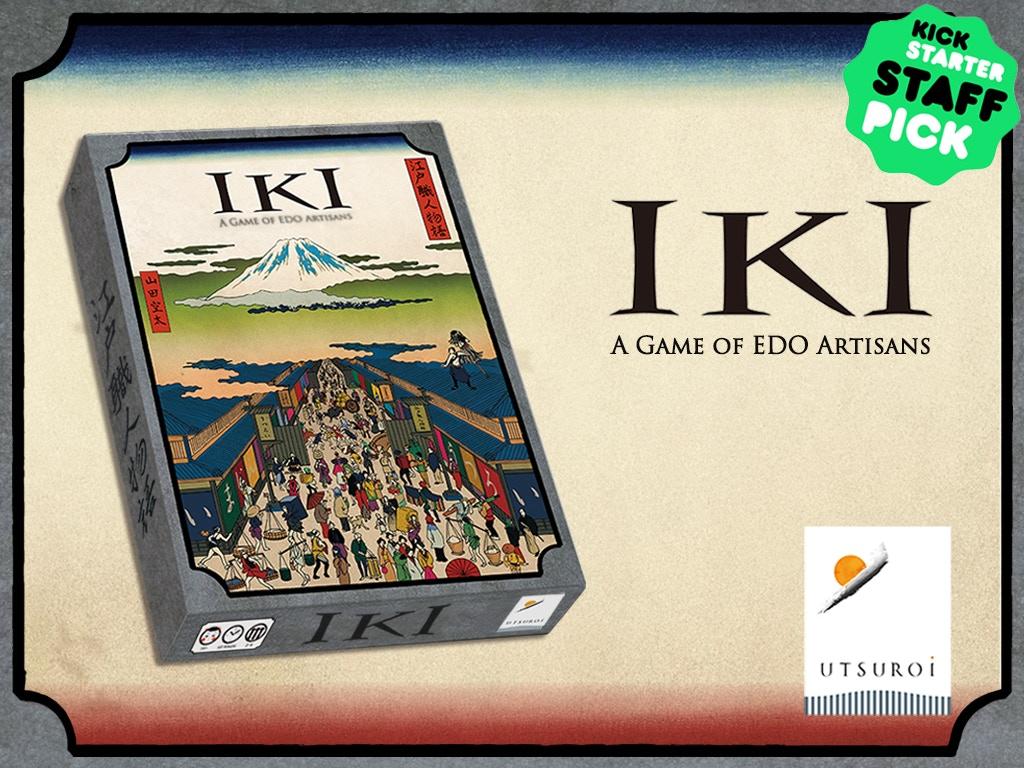 IKI: A Game of EDO Artisans miniatura de video del proyecto