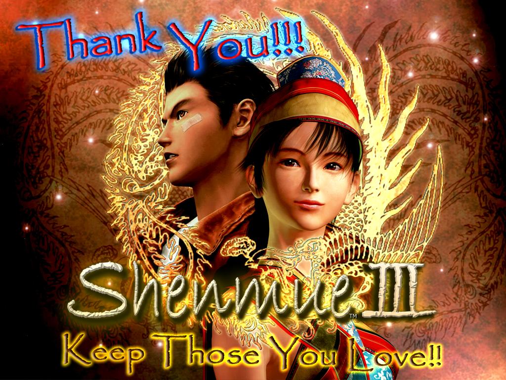 Shenmue 3 Kickstarter Image