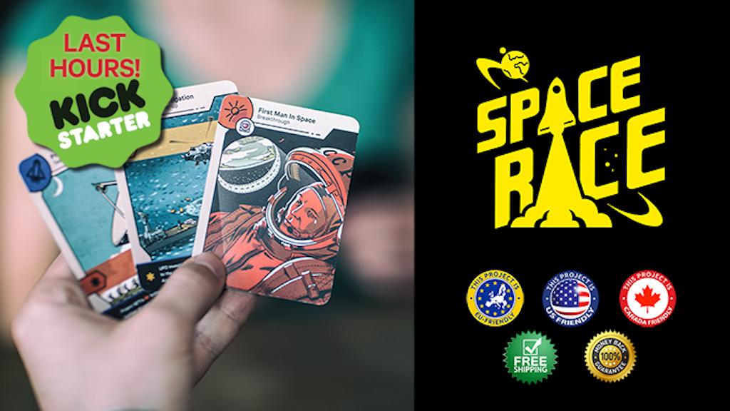Space Race: The Card Game miniatura de video del proyecto