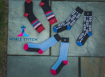 Socks made from Bamboo, Crowdsourcing Designs- Noble Stitch