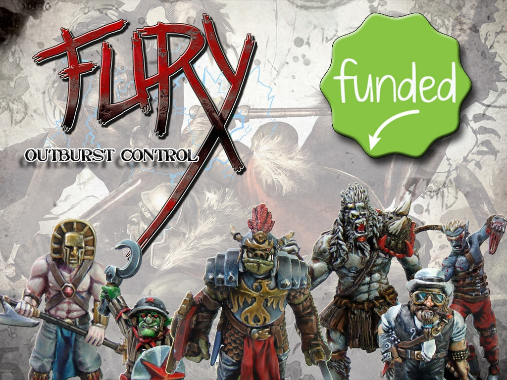 Kickstarter Fury:Outburst Control (90%) Photo-original