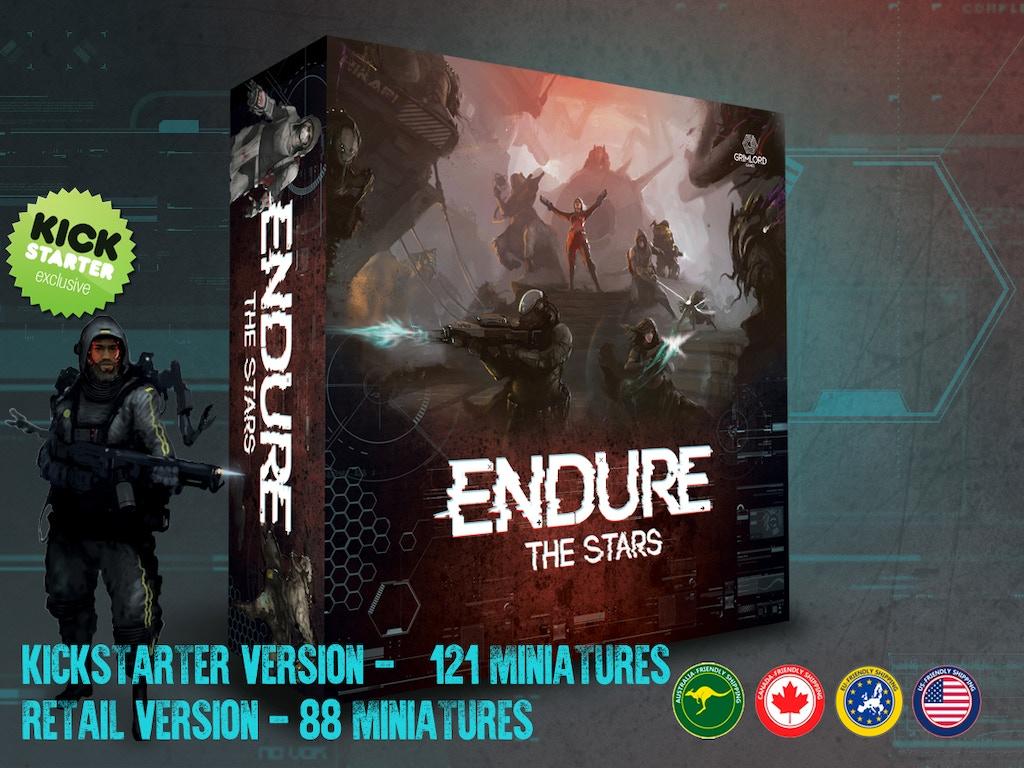 Endure the Stars miniatura de video del proyecto