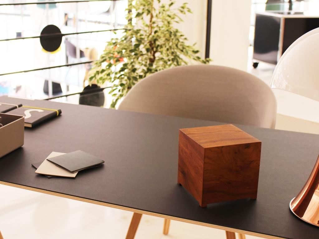 Made by French outfit Bleujour, the unique housing makes the mini-PC look  like a random wooden box. You know, something you're keeping on your desk  as a ...