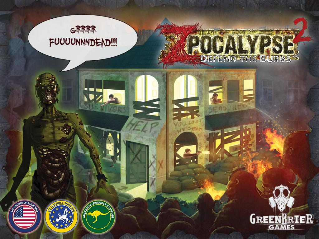 Zpocalypse 2: Defend the 'Burbs miniatura de video del proyecto