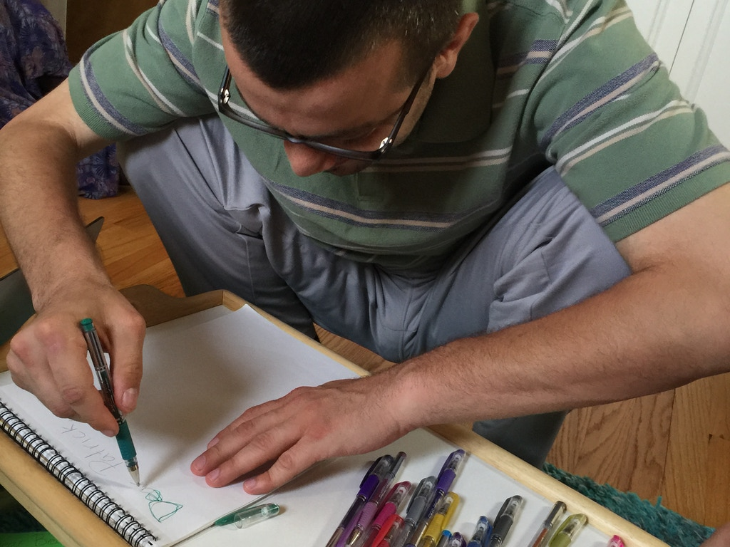 Arts and crafts for autism by rezan ali kickstarter for Craft ideas for disabled adults