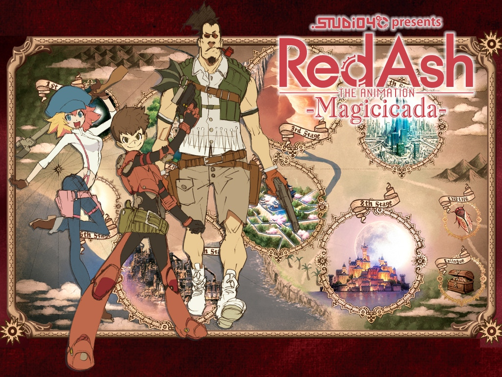 Red Ash Anime Series