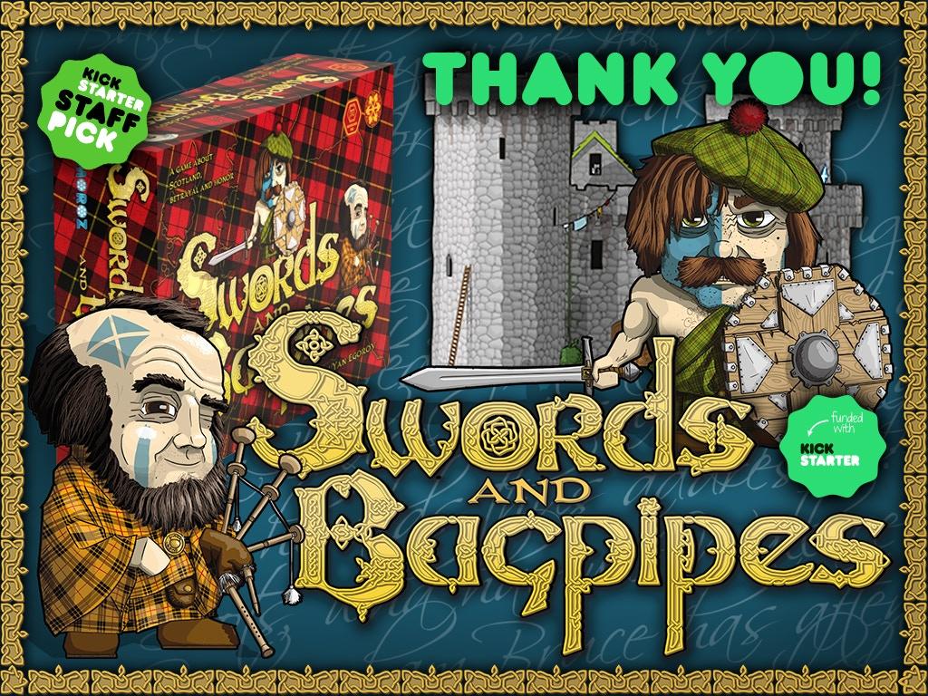 Swords and Bagpipes. Freedom, Treachery, Power! miniatura de video del proyecto
