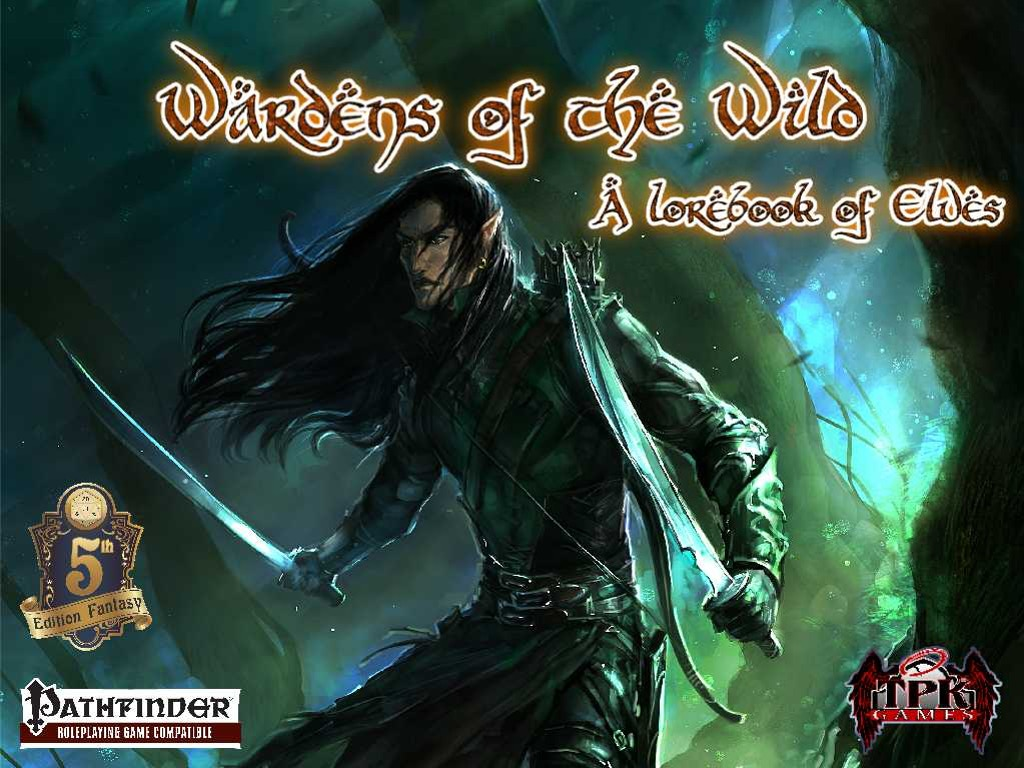 A massive game sourcebook expanding on elven PC options in any game you play, but specifically designed for Pathfinder and 5e Fantasy.